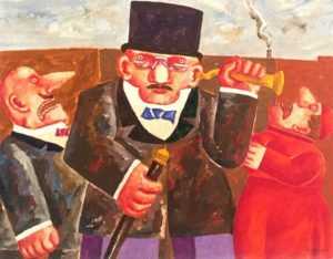 Franz-Borghese-Il-sordo-dipinto-su-tela-